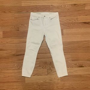 {Gap} White Skinny Jeans
